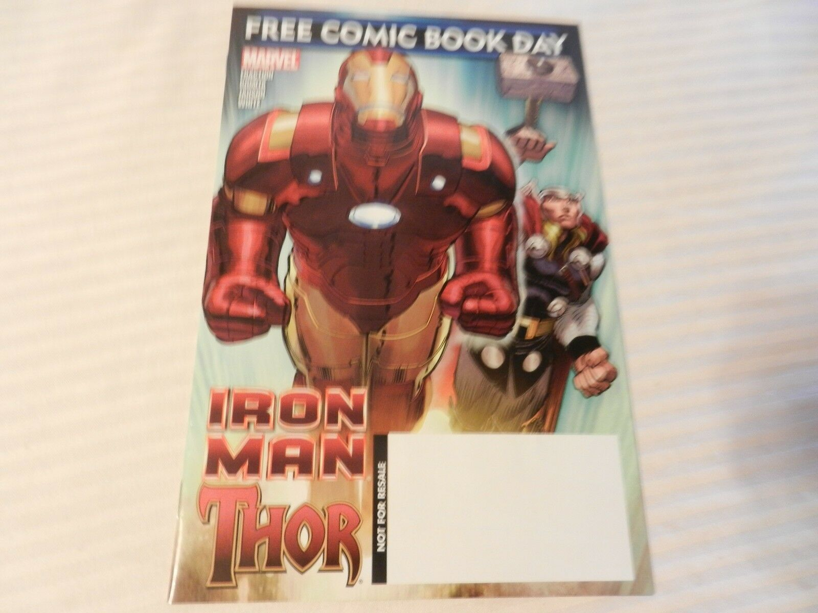 Iron Man & Thor Marvel Comics #1 May 2010 Comic Book Day