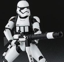 S.H.Figuarts Star Wars Storm Trooper (Heavy Gunner) Force Awakens Premiu... - $94.00