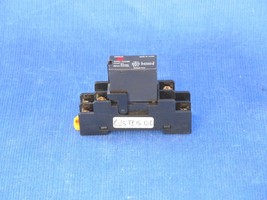 Omron G3RD-X02SN Relay with base P2RF-05 - $9.18
