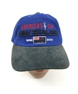 VINTAGE LV Americas Cup Yacht Race Dad Hat 99 TEAM NEW ZEALAND Strapback... - $168.88