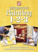 Decorative Painting 1-2-3 Home Depot Books and Holms, John - $7.43