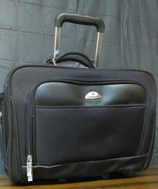 Samsonite Briefcase Rolling Laptop Bag Carry On Luggage with Handle-EUC - $48.98