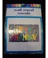 Happy Birthday Wall Mural Great for boys, girls, adult, elder, pets - $11.75