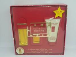 Vintage Red Door Elizabeth Arden Gift Set Discontinued - Spray Parfum Lotion NEW - $25.23