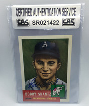 Bobby Shantz 1991 Topps Archives Autographed Baseball Card CAS - $10.99