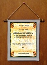 Lawyer's Prayer - Personalized Wall Hanging (179-1) - $19.99