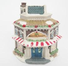 Cobblestone Corners Windham Heights Restaurant Christmas Village Building 2004 - $14.84