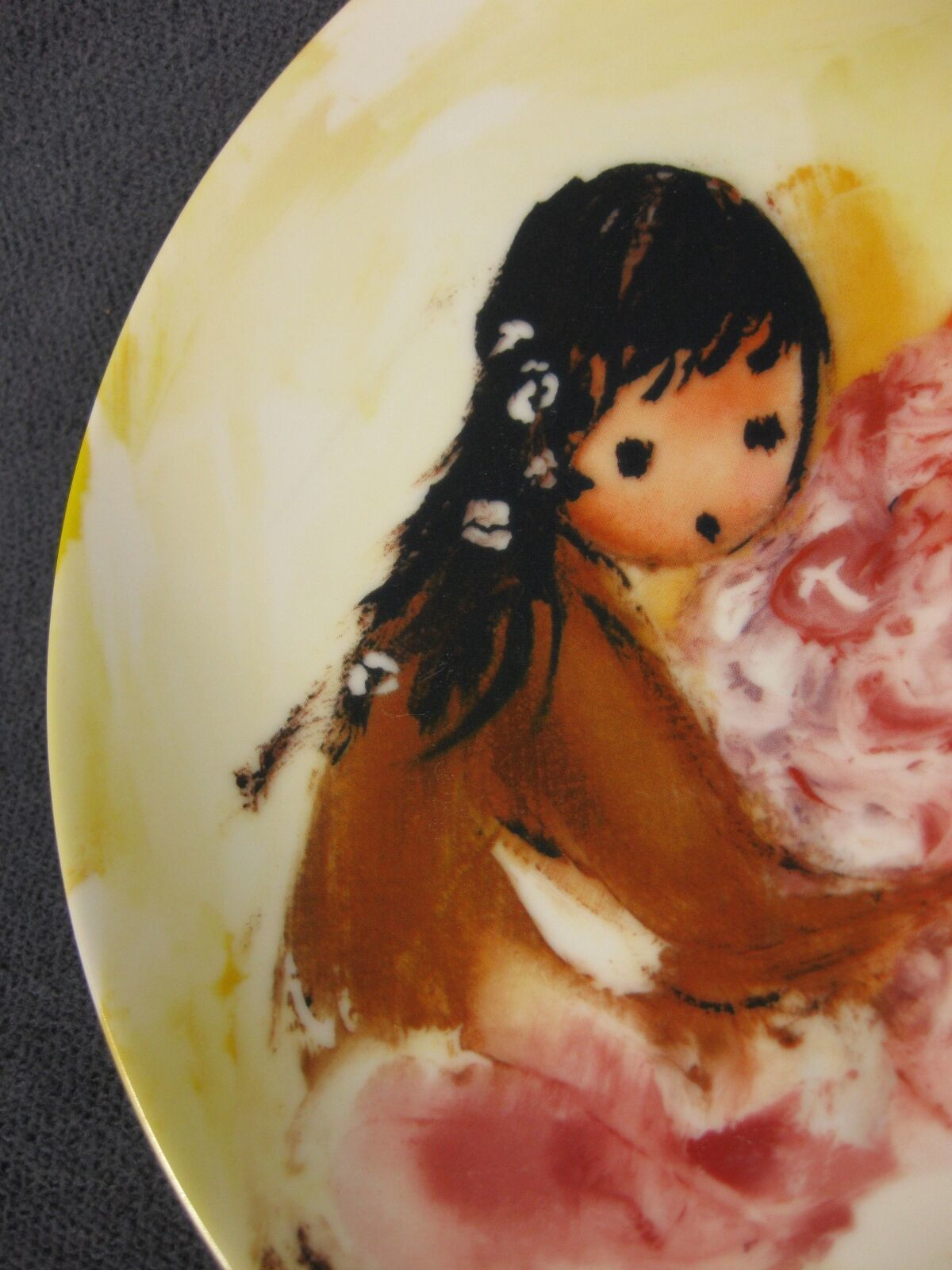 Spring Blossoms Collector Plate Children Of The Sun Ettore Ted DeGrazia Knowles
