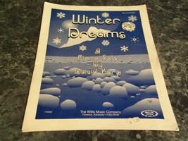 Winter Dreams Piano Solo by David Karp sheet music - $4.99