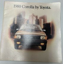 1980 Toyota Corolla Factory Car Sales Brochure Catalog rare - $15.88
