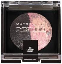 Maybelline New York Eye Studio Eye Shadow, Carbon Frost 05, 2 Ea - $30.02