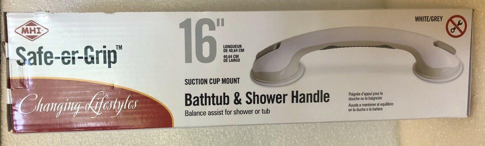 "Changing Lifestyles Safe-er-grip Bath Shower Handle Balance Assist 16"" - $12.57"