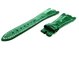 28mm Green Real Leather Watch Strap For Audemars Piguet Royal Oak Offshore - $41.94