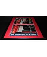 1965 Pope Paul VI in America ORIGINAL Vintage Framed 18x24 Life Magazine... - $83.79