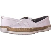 Anne Klein Zessy Slip On Flats 440, White, 7 US - $26.87