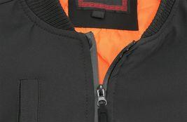 Men's Multi Pocket Water Resistant Industrial Uniform Quilted Bomber Work Jacket image 4