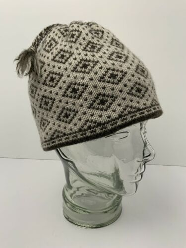 Primary image for MERKLEY 100% Wool Beanie Hat Fleece Band Winter Cap Snug Fit Warm Oatmeal Olive