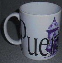 2004 16 oz Starbucks PUERTO RICO City Mug Collectors Series HANDLED MUG - $19.79