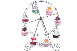 Ferris Wheel Cupcake Display Stand Wedding Birthday Baby Shower Circus P... - $25.88