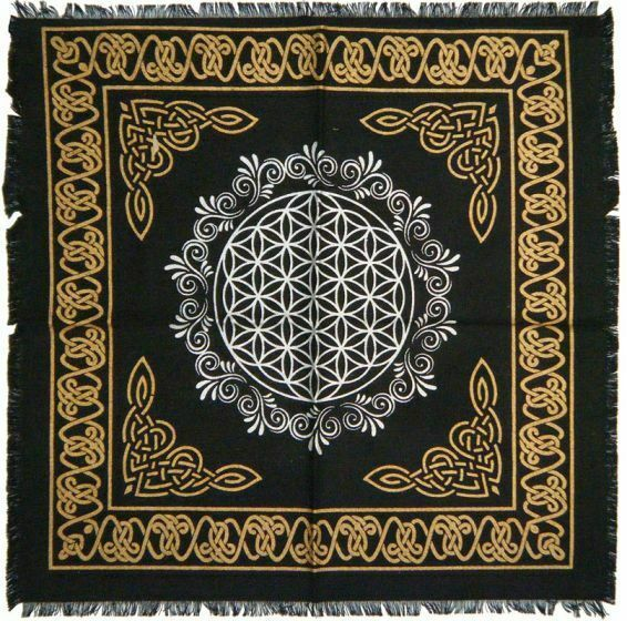 Primary image for Flower of Life Altar Cloth, 18x18 inch