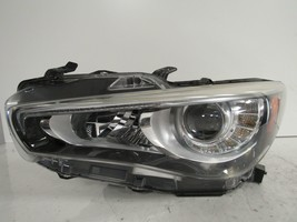 2014 2015 2016 2017 INFINITI Q50 DRIVER LH LED HEADLIGHT W/O ADAPTIVE OE... - $388.00