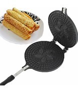 Waffle Maker Omelet Pancake Mold Egg Roll Ring Machine Cake Baking Pan C... - ₨2,427.62 INR