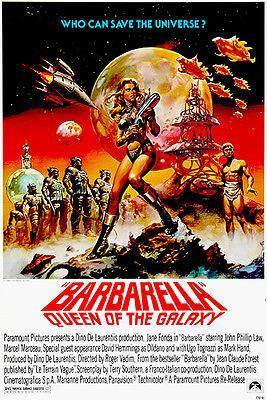 Primary image for Barbarella - Queen of the Galaxy - 1968 - Movie Poster