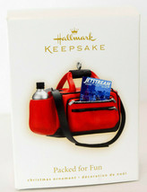 Hallmark: Packed For Fun - Travel Bag - 2009 Keepsake Ornament - $14.15