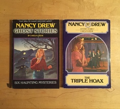 1970s/80s Nancy Drew Mystery Stories Books by Carolyn Keene image 2