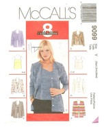 McCall's 9099 Misses' Unlined Cardigan in 2 Lengths & Camisoles XSml & S... - $6.47