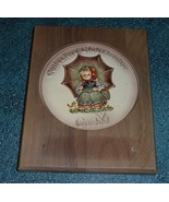 1978 Goebel Hummel Collectors Club Member Special Edition #2 Plate With ... - $9.88