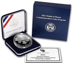2011 P Medal Of Honor Silver Proof $1 PF-1 - $88.19