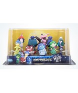 Disney Store Pixar Inside Out Deluxe Figure Cake Topper Play Set New wit... - $27.75