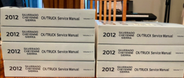 2012 chevy silverado & gmc sierra ck truck service shop repair manual oem - $495.01