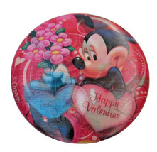 Disney Mickey Mouse & Minnie Mouse Lenticular Valentine's Day Button Pin... - $6.99