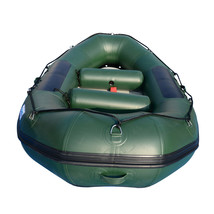 BRIS 9.8ft Inflatable White Water River Raft 2 Person Self Bailing Raft Dinghy image 2