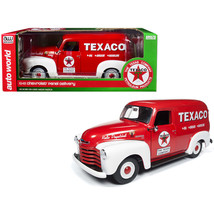 1948 Chevrolet Panel Delivery Truck Texaco Red Limited Edition to 1,002 ... - $108.89