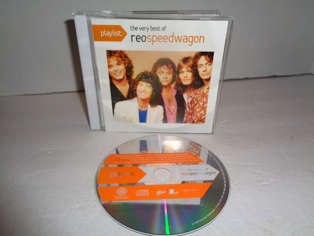 REO Speedwagon, The Very Best Of, CD By Playlist Excellent Condition