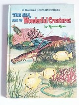 Vintage Book The Sea and its Wonderful Creatures A Whitman Learn - $5.69