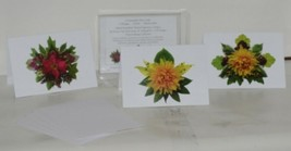 Natural Vegetation Frameable 5X7 All Occasion Card 3 Designs Package 6 White image 1