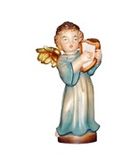 Guardian Angel with Harpwooden figurine ornament decoration, Religious Gift - $11.90 - $41.90