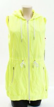 Tommy Hilfiger Yellow Zip Front Drawstring Hooded Sport Vest Women's Packable image 2