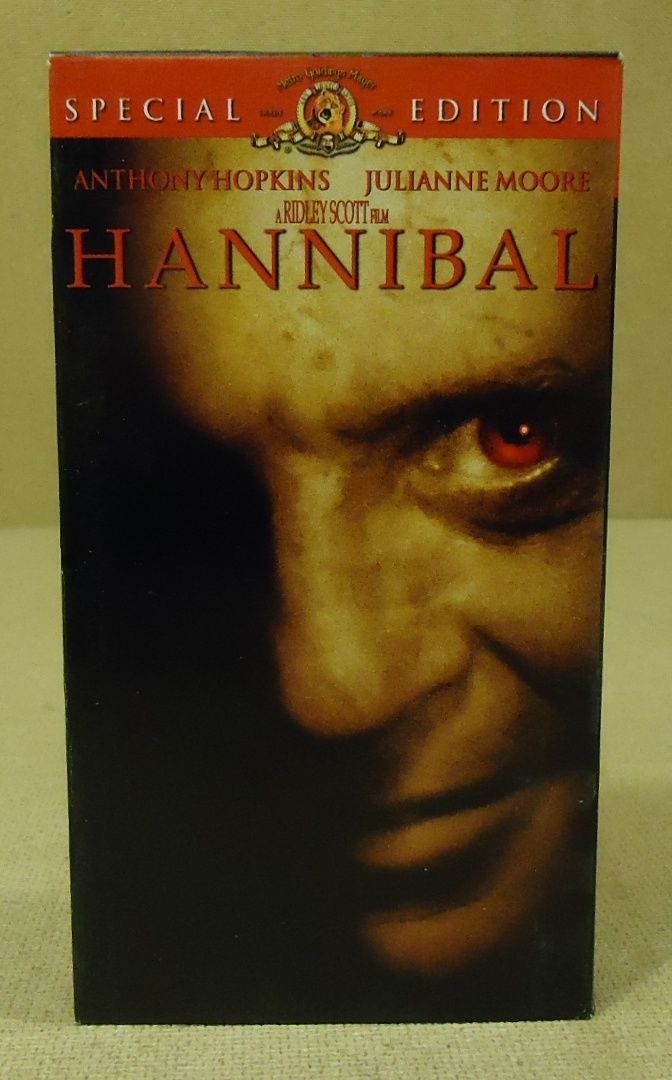 metro-Goldwin-Mayer Pictures Hannibal VHS Movie  * Plastic Paper