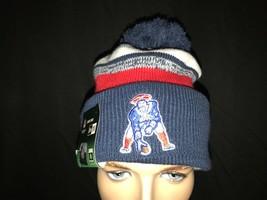 New Era New England Patriot's Vintage Logo Super Bowl Beanie Skully Pom Pom - $47.36