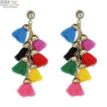 Hot sale New FIRENZE FRINGE DROPS earrings fashion women statement dangl... - $8.08 CAD