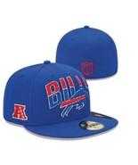 New Era 59FIFTY NFL Buffalo Bills On The Field Football Hat Cap Sz 6 1/2 - £16.05 GBP