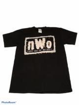 Vintage NWO T Shirt Tultex Men's Large Black Tee Wrestling 1990s New Wor... - $47.45
