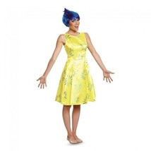 Disguise Inside Out Joy Deluxe Adult Anger Fear Womens Halloween Costume... - $50.74