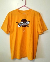Adidas Cleveland Cavaliers Logo Go-To-Tee Tagless Men's Size XL T Shirt ... - $12.88