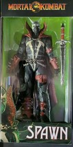 "McFarlane Toys Mortal Kombat 7"" Spawn Deluxe Figure RARE MK MortalKombat - $54.44"